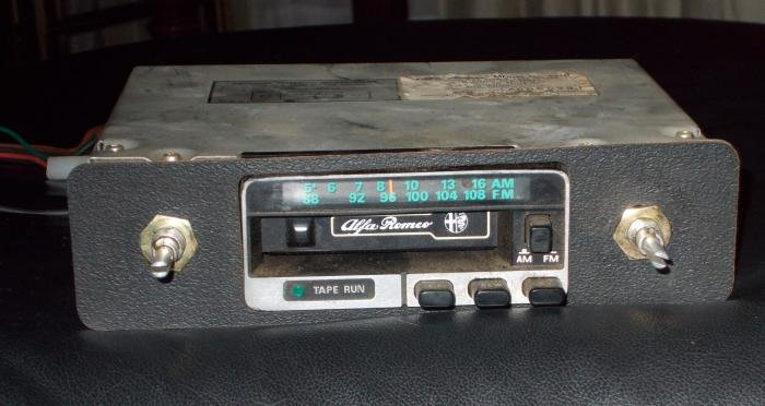 For Sale Original Alfa Romeo AM/FM Radio Cassette - Alfa Romeo