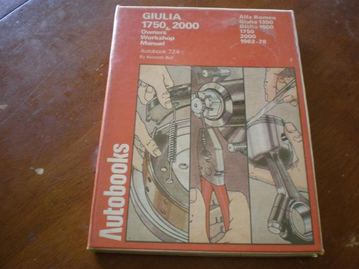 for sale giulia 1750 and 2000 owners workshop manual. Black Bedroom Furniture Sets. Home Design Ideas