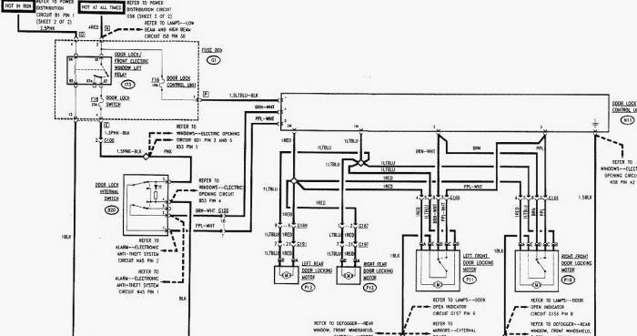 Mitsubishi L200 Central Locking Wiring Diagram