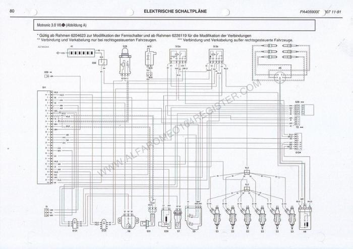 Alfa 164 fuel pump in car quick test procedure.. - Alfa Romeo ...