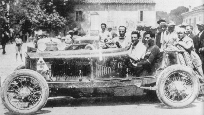 Enzo Ferrari - Coppa Acerbo 1924