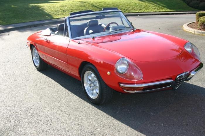 For Sale Spider Boattail Fresh Restoration RedBlk Alfa Romeo - 1967 alfa romeo spider for sale