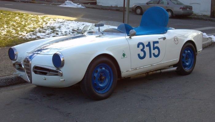For Sale 1959 Alfa Romeo Giulietta Spider Veloce Vintage