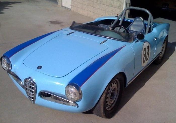 Auto Entertaintment And Lifestyle Alfa Romeo Giulietta Spider - 1960 alfa romeo giulietta for sale