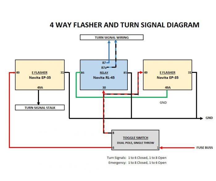 Signal Flasher Wiring - Wiring Schematic Database