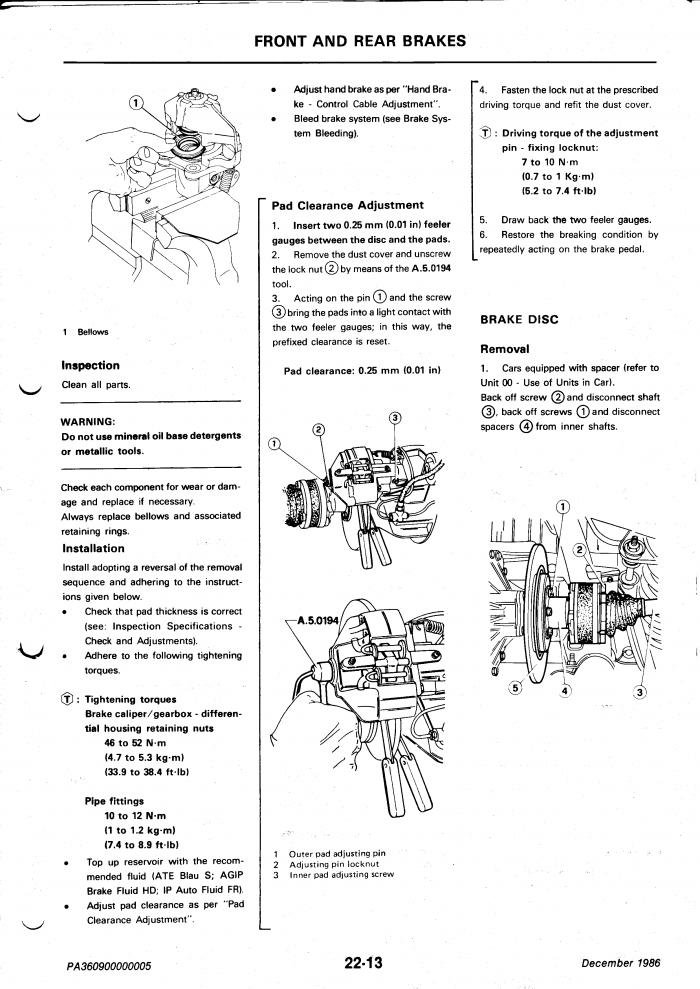 Spider Calipers on 116 Rear Rotors - Page 2 - Alfa Romeo