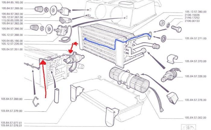 Heater Tap on A/C Evaporator Box - Alfa Romeo Bulletin Board
