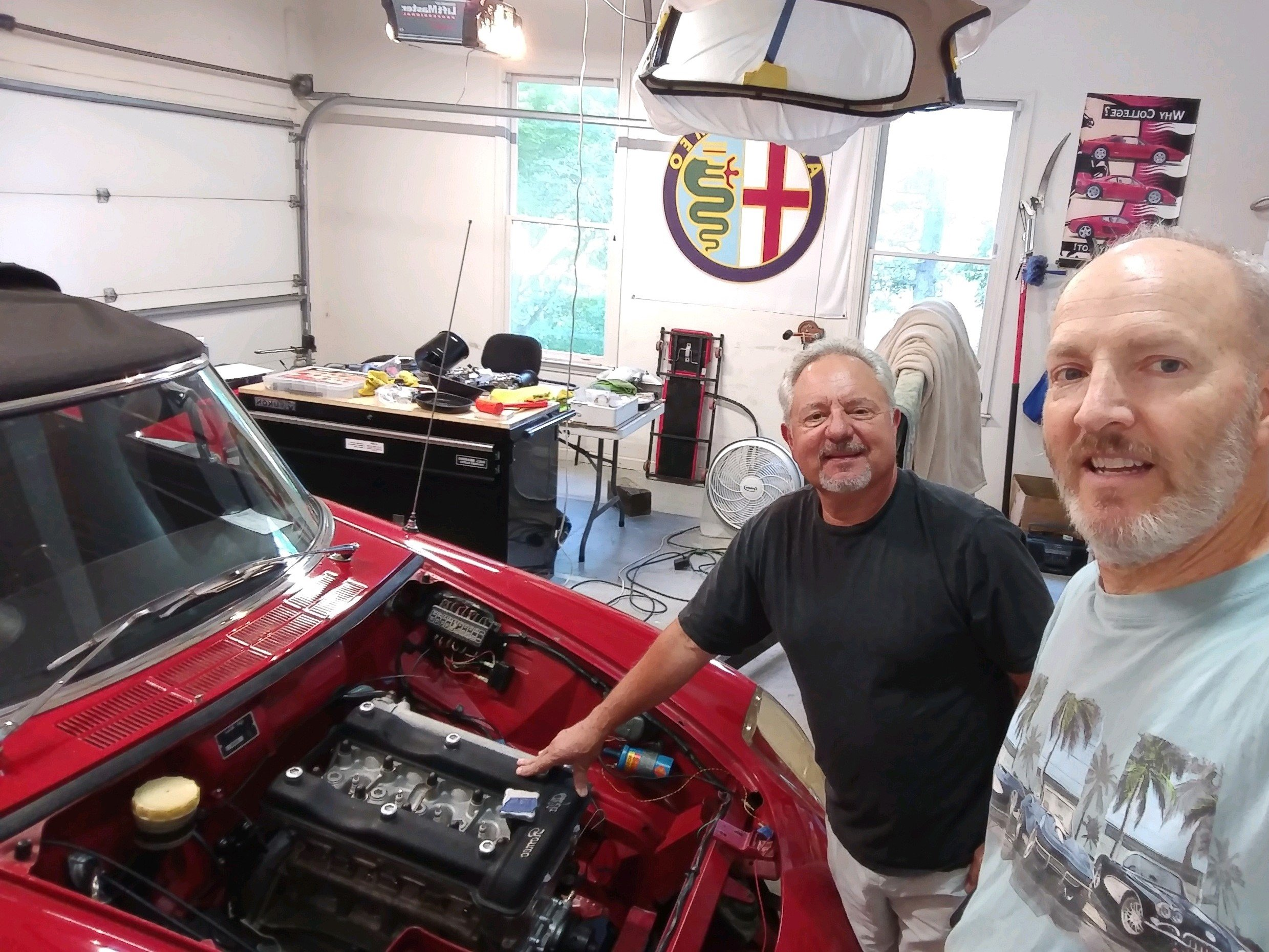 Name:  Alex and Mark 2019 engine install uncovered.jpg Views: 119 Size:  897.6 KB