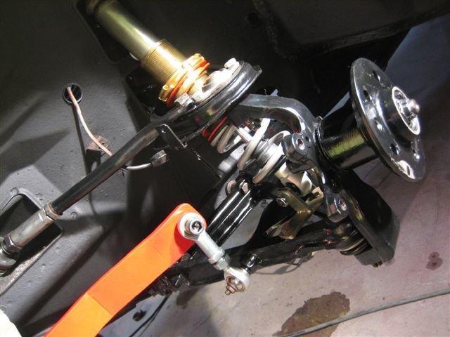 D Gtv Restoration Project Alfa Front Suspension