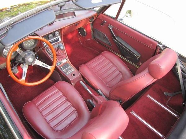 Pretty cool red interior in car on Craigslist - Alfa Romeo