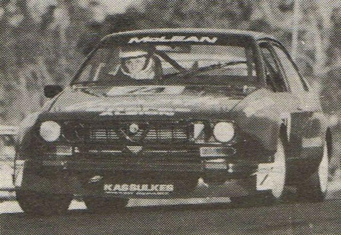 Name:  Alfa Romeo GT-GTV 116 GP Sportscars Lakeside Cameron McLean Front B&W.jpg Views: 7607 Size:  88.9 KB
