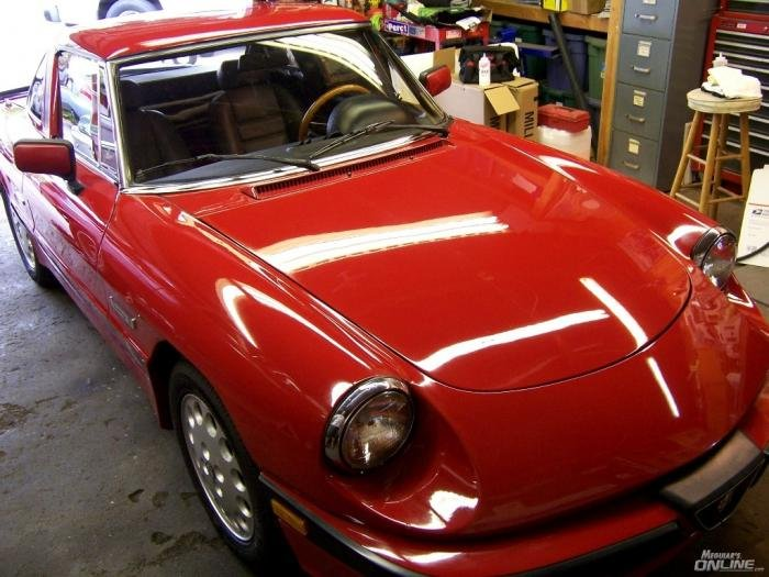 For Sale Alfa Spider Quadrifoglio Red In SO CAL Alfa Romeo - 1988 alfa romeo spider for sale