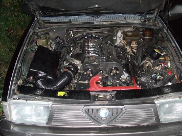 D Vems Install My Verde Car Bay on Alfa Romeo Milano S