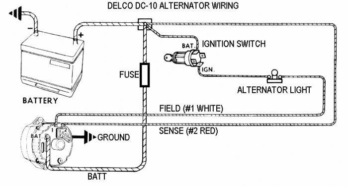 3 wire alternator diagram, Wiring diagram
