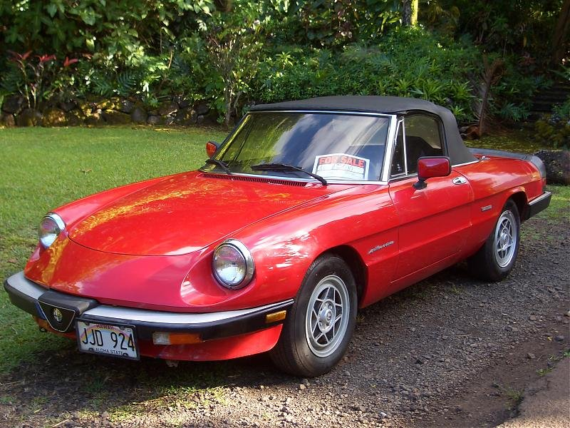 Any Alfa Romeo Owners The Hull Truth Boating And Fishing Forum - Alfa romeo spyder for sale