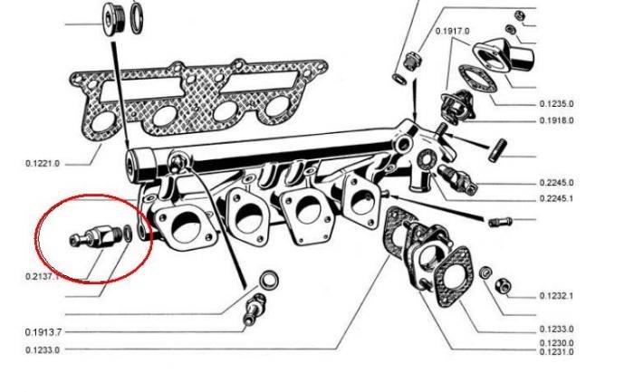 brake booster non-return valve