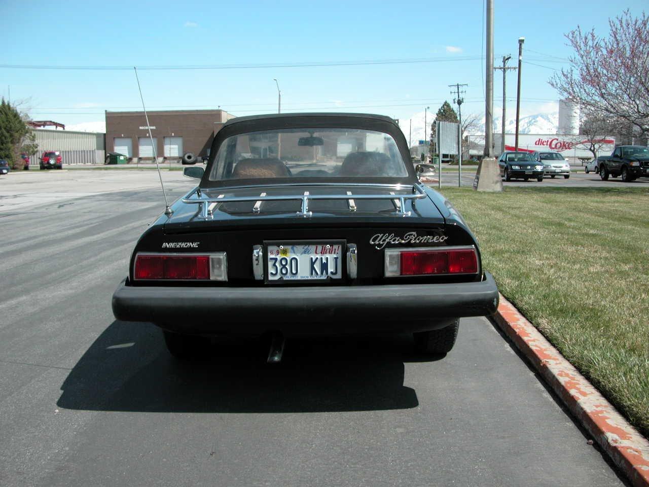 FS 1978 Black Alfa Spider in
