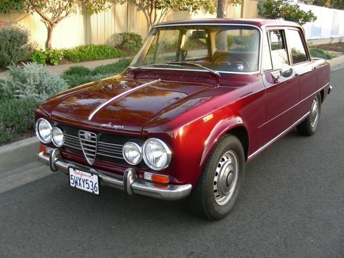 For Sale Alfa Romeo Giulia Super Alfa Romeo Bulletin - Alfa romeo giulia 1972