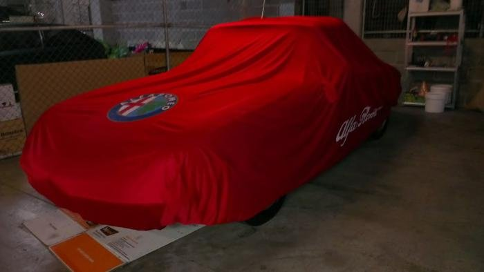 Car Covers Good Or Bad Alfa Romeo Bulletin Board Forums - Alfa romeo car cover