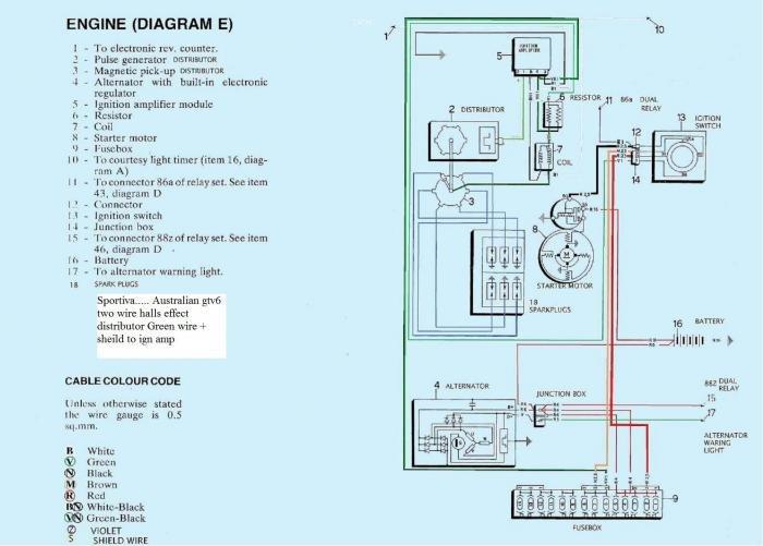 3.0 GTV6 lost voltage to coil? - Alfa Romeo Bulletin Board & Forums
