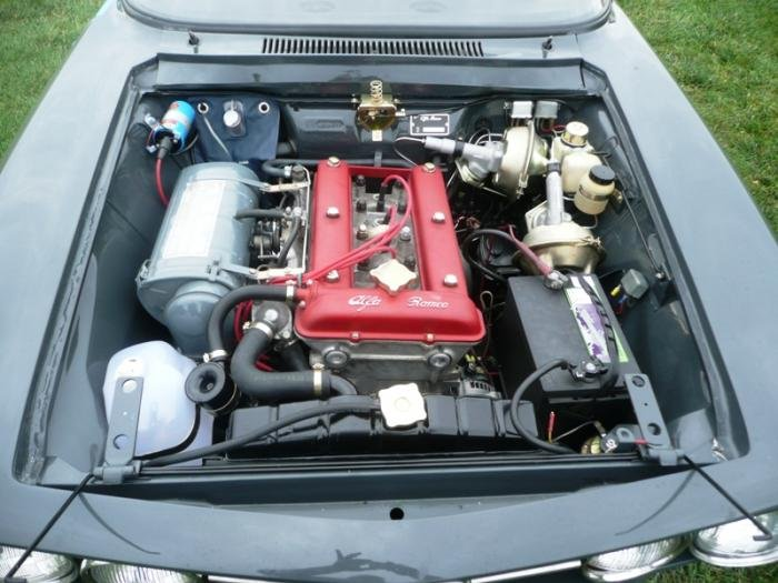 Hidden Wiring Under Hood Bon Page 2 Alfa Romeo Bulletin