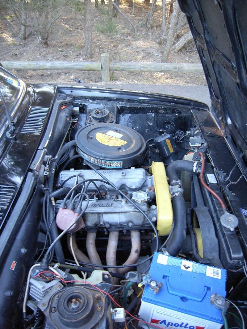 '74 105 GTV 2000 - Resto