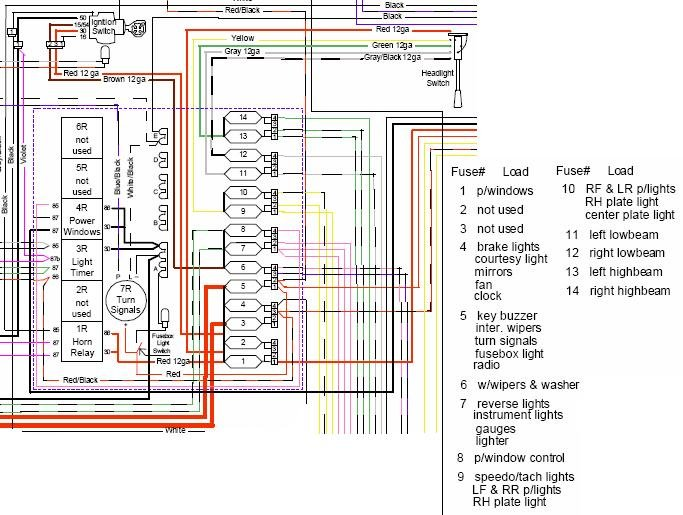 82 spider wiring diagram??? - Alfa Romeo Bulletin Board & Forums