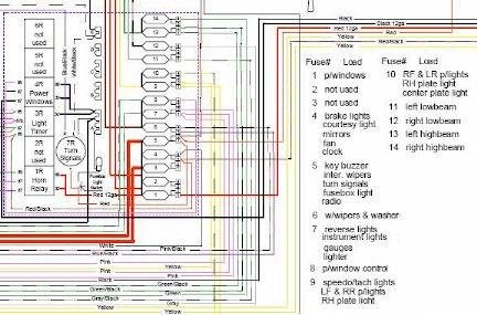 1987 Spider fuse/relay panel + Power windows - Alfa Romeo ... on
