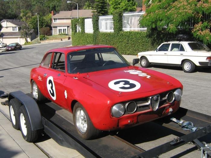 For Sale 1973 GTV Vintage Race Car - Alfa Romeo Bulletin