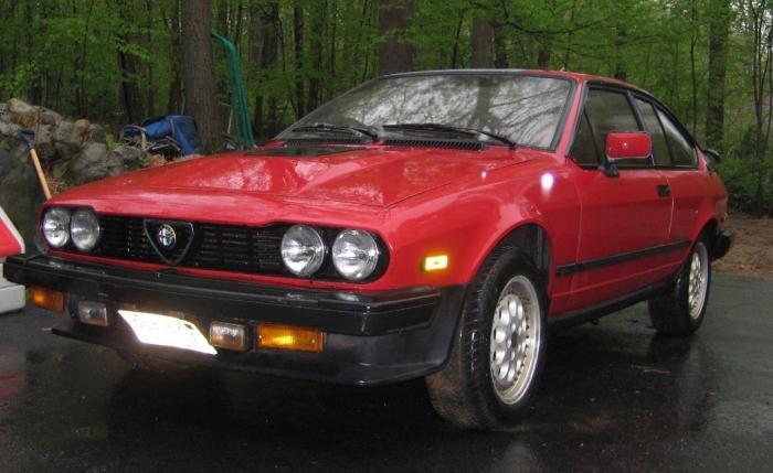 For Sale 1986 Gtv6 Red W Tan Interior 3 000 Alfa