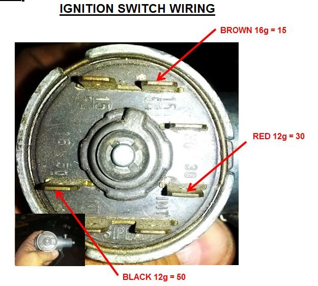D Ignition Switch Wiring Ignition Switch Round View furthermore E also Vacac further Wire Diagram further Install Whc. on 1966 mustang ignition switch wiring diagram