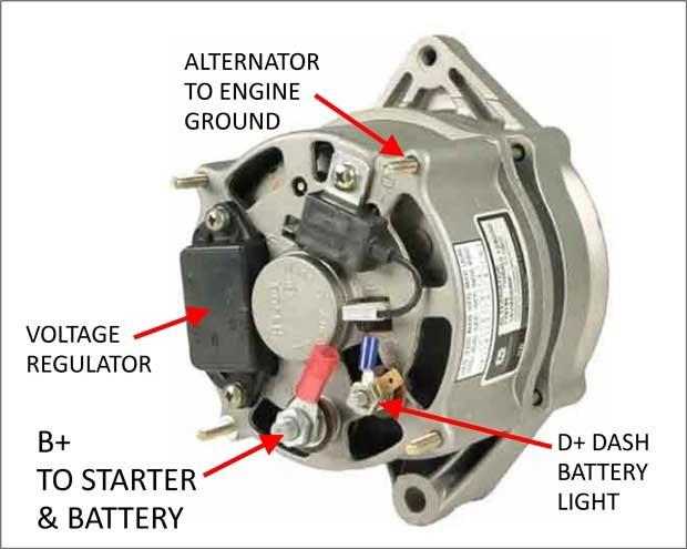 Wiring a late model alternator | Alfa Romeo ForumsAlfa BB