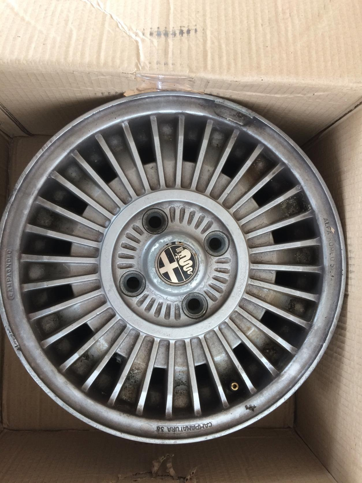 For Sale Campagnolo Rims 4 Alfa Romeo Bulletin Board Forums Attached Images