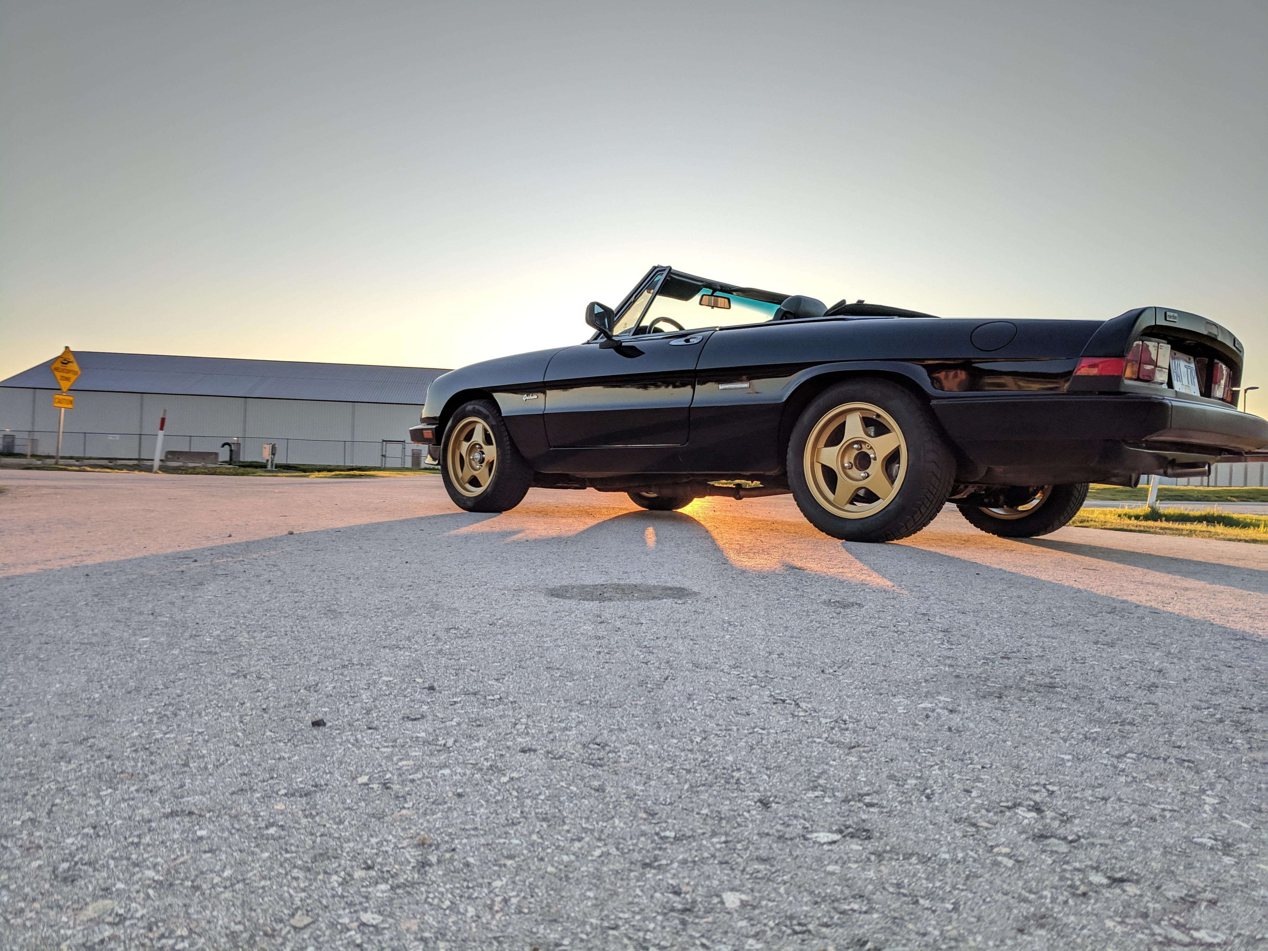 Alfa Romeo Spider 69-94  Center Exhaust Mount  Plate Original Alfa Part