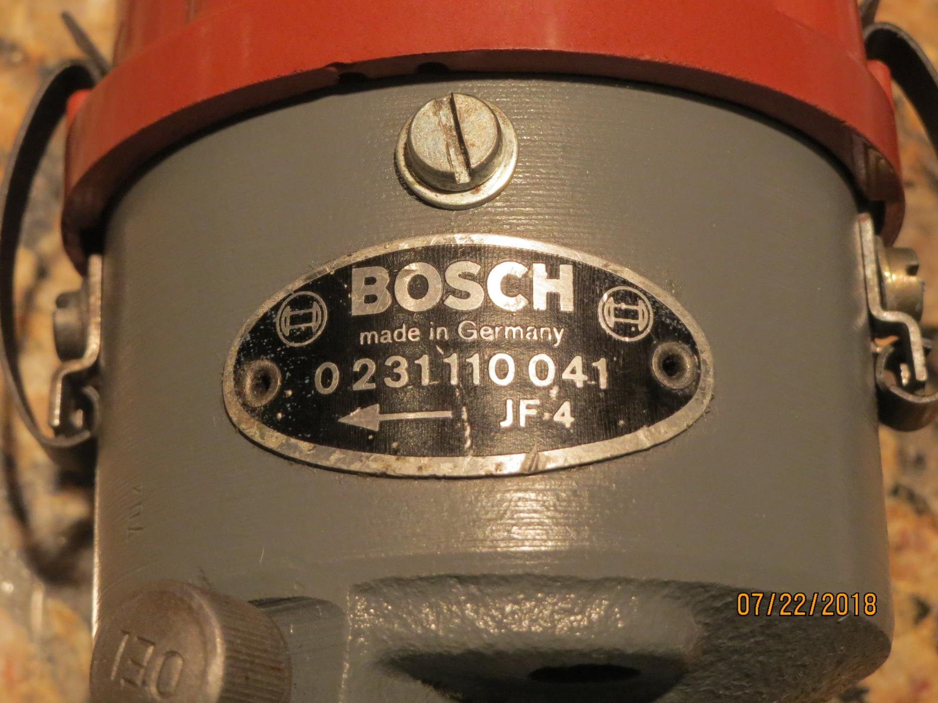 Bosch 1235522058 Distributor Cap