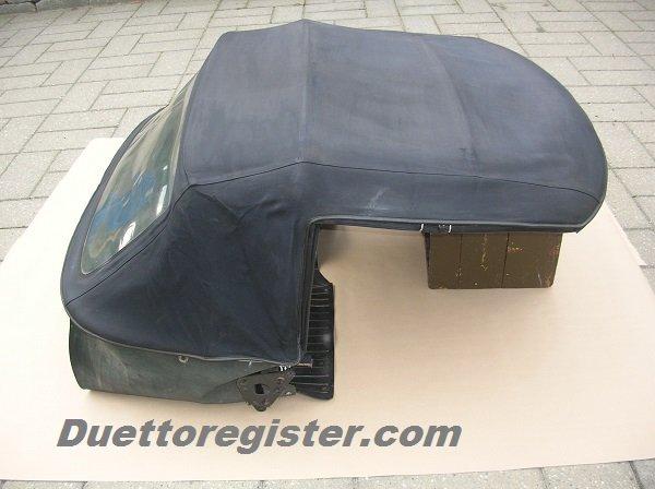 Duetto Original Soft Top Frame Support Alfa Romeo Bulletin Board - Alfa romeo spider soft top