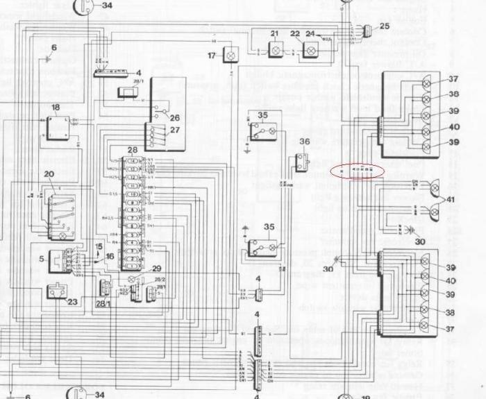 Name Lighting Diagram Close Views 5961 Size 626 Kb: Alfa Romeo Milano Gold Wiring Diagram At Johnprice.co
