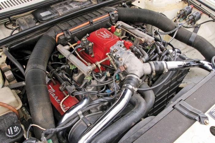 Maserati biturbo engine swap