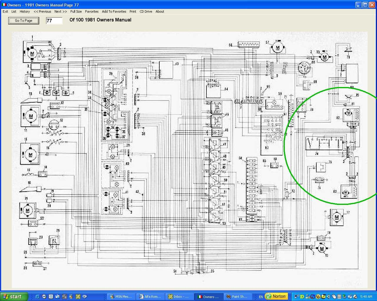 Alfa Romeo Gtv6 Wiring Diagram
