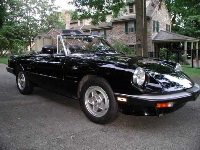 For Sale 1989 Alfa Romeo Spider Veloce  37000 Miles  Alfa Romeo