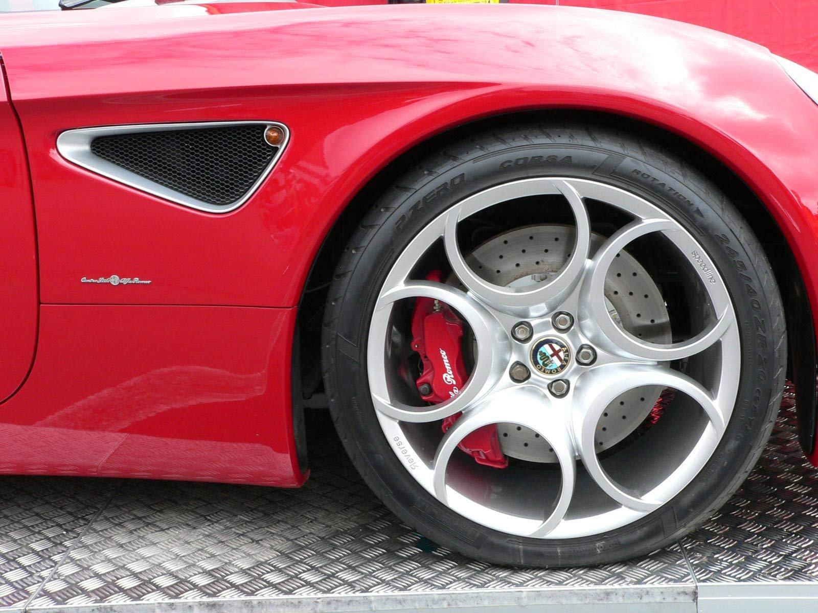 8C Cabrio - Alfa Romeo