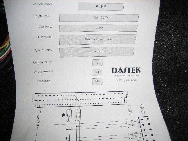 Dastek Unichip Q Ecu Plug And Wires