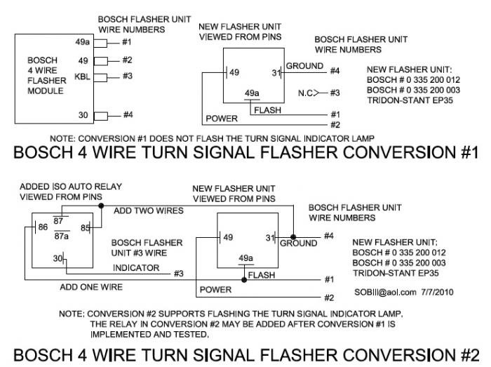 4-wire flasher conversion - Alfa Romeo Bulletin Board & Forums on