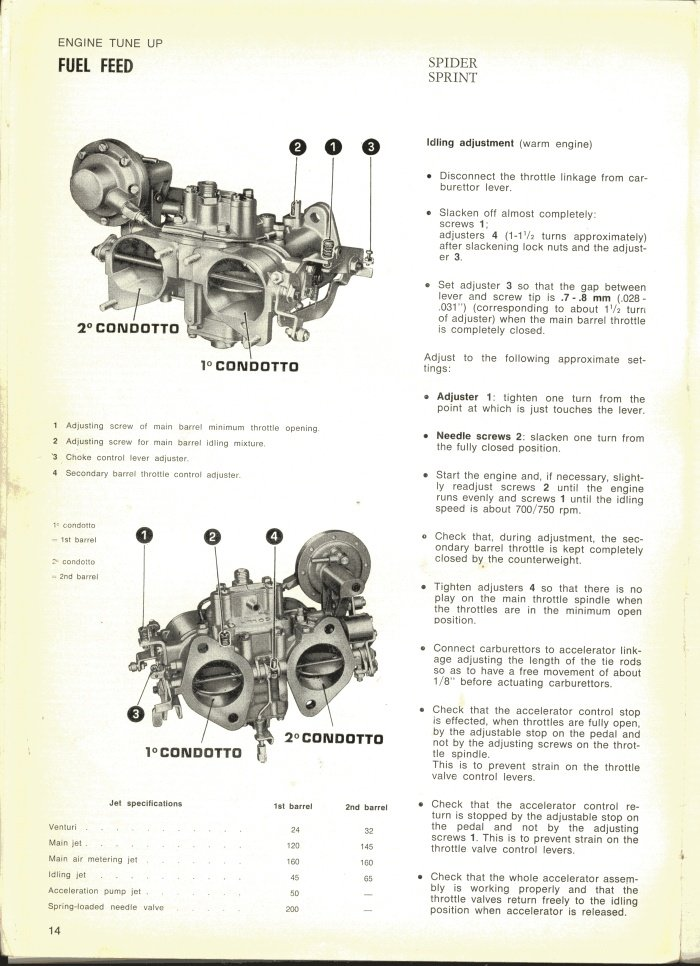 Solex Carburetor Rebuild