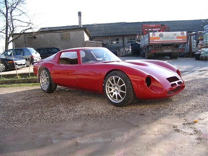 Sembra che l esemplare incompleto presentato alla RACE RETRO di marzo    Alfa Romeo 33 Stradale Replica
