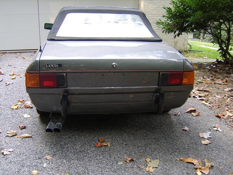 Lancia Beta Spider. 82 Lancia Beta Zagato Spider