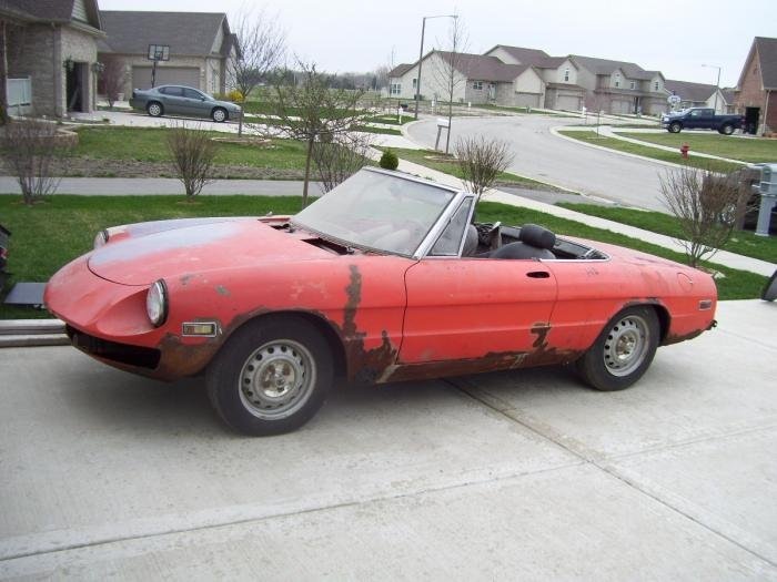For Sale Spider For Sale Alfa Romeo Bulletin Board Forums - Alfa romeo spider 1974 for sale