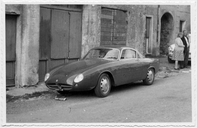 1957 Alfa Romeo Giulietta Sprint. Scaglietti Giulietta Sprint