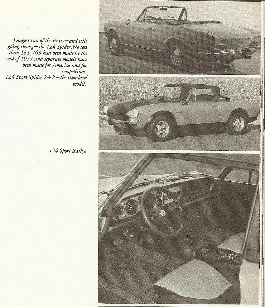 Fiat 124 coupe vs.