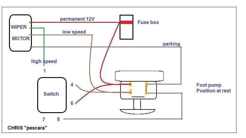 4 Wire Wiper Motor Wiring Diagram Database